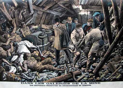 10 mars 1906 la catastrophe minière de courrières